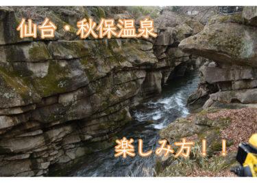 【仙台】秋保(あきう)温泉ってどんなところ?旅館も紹介するよ【東北旅行②】